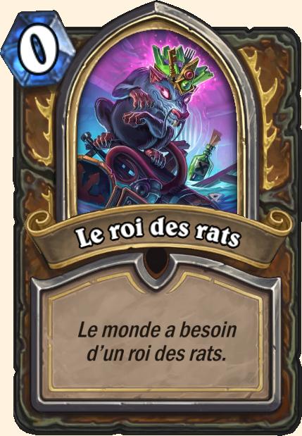 Boss Le roi des rats - Hearthstone Casse du siècle