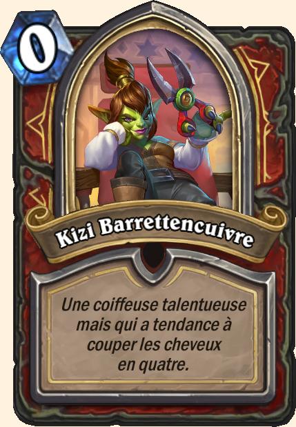 Boss Kizi Barrettencuivre - Hearthstone Casse du siècle
