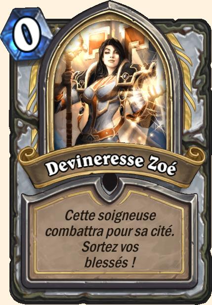 Boss Devineresse Zoé - Hearthstone Casse du siècle