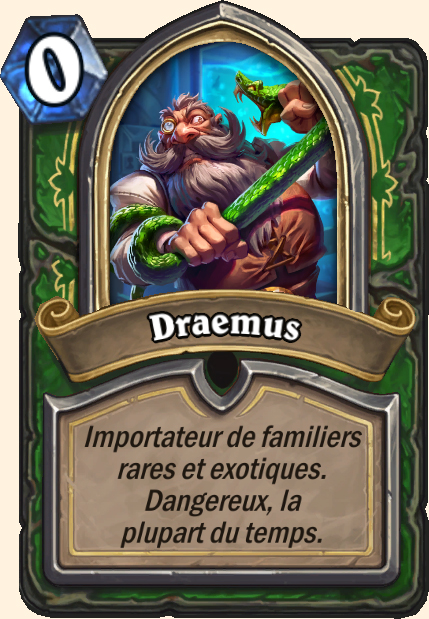 Boss Draemus - Hearthstone Casse du siècle