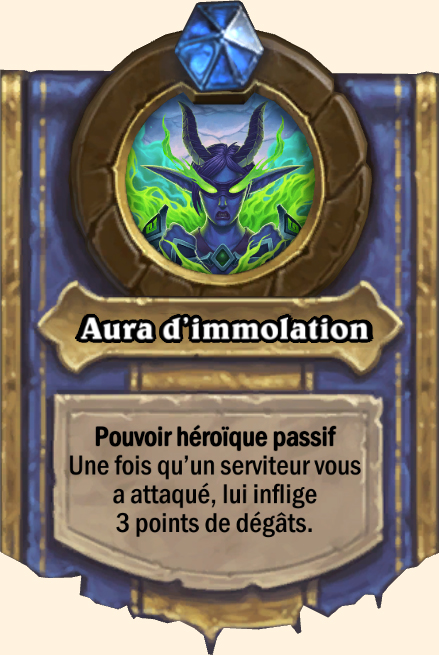 Pouvoir héroïque Aura d'immolation