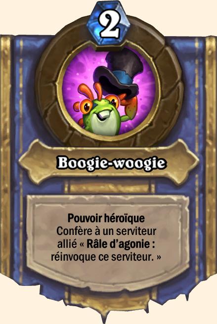 Pouvoir héroïque Boogie-woogie