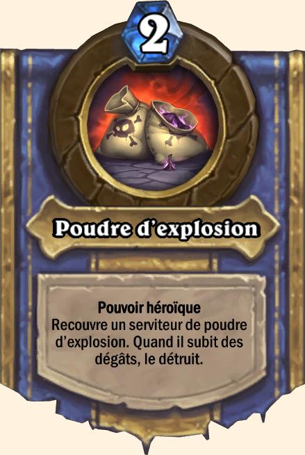 Pouvoir héroïque Poudre d'explosion