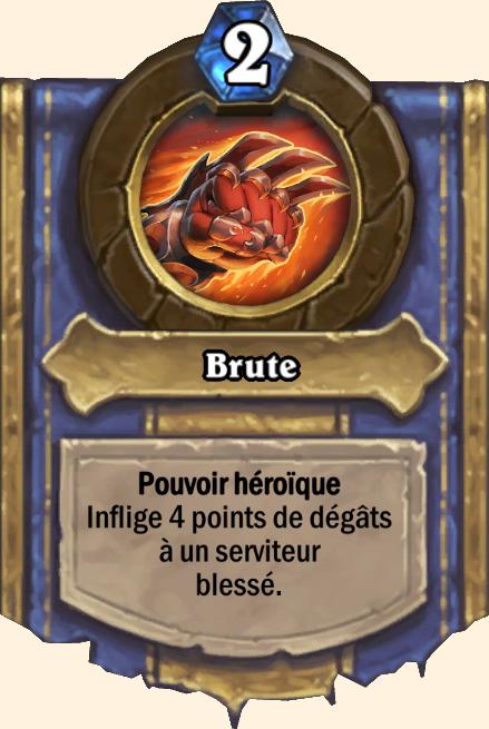 Pouvoir héroïque Brute