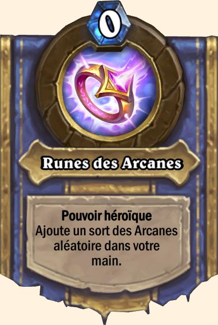 Pouvoir héroïque Runes des Arcanes