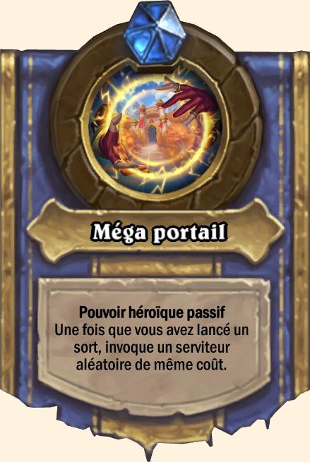 Pouvoir héroïque Méga portail