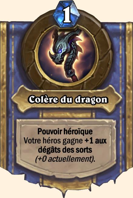 Pouvoir héroïque Colère du dragon