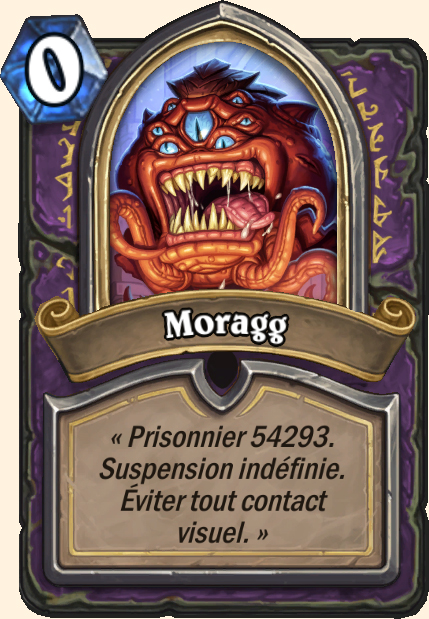 Boss Moragg - Hearthstone Casse du siècle