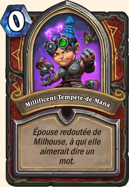 Boss Millificent Tempête-de-Mana - Hearthstone Casse du siècle