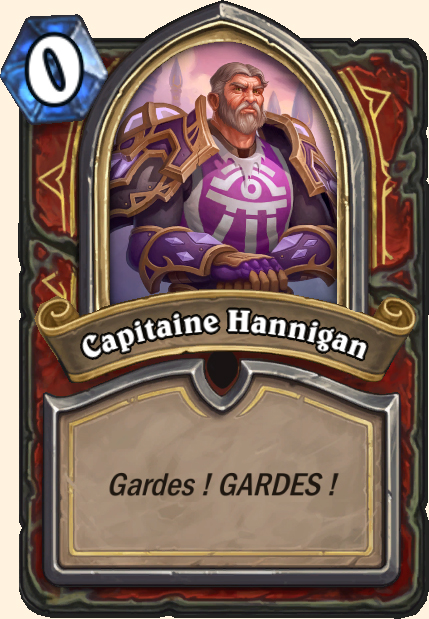Boss Capitaine Hannigan - Hearthstone Casse du siècle
