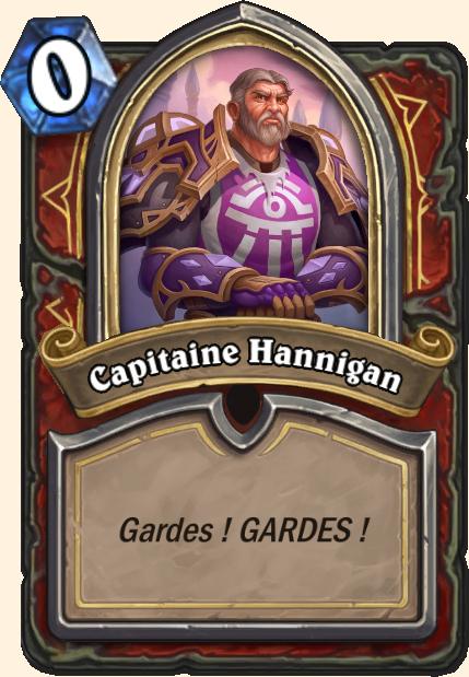 Boss Capitaine Hannigan - Hearthstone Casse du siècle