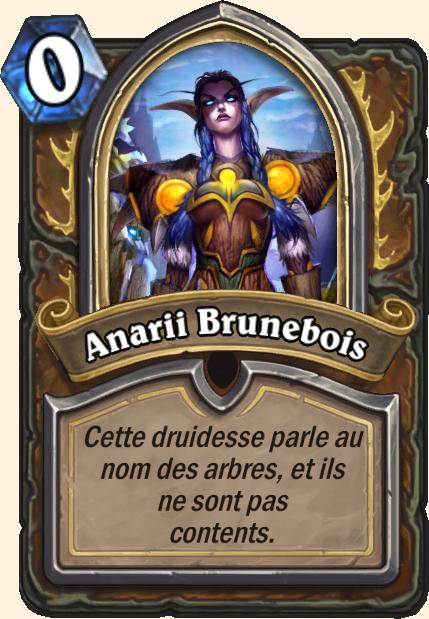 Boss Anarii Brunebois - Hearthstone Casse du siècle