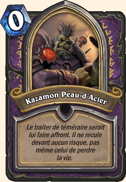 Boss Kazamon Peau-d'Acier - Hearthstone Casse du siècle