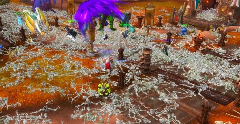 Le sang vicié a décimé la population des joueurs de WoW