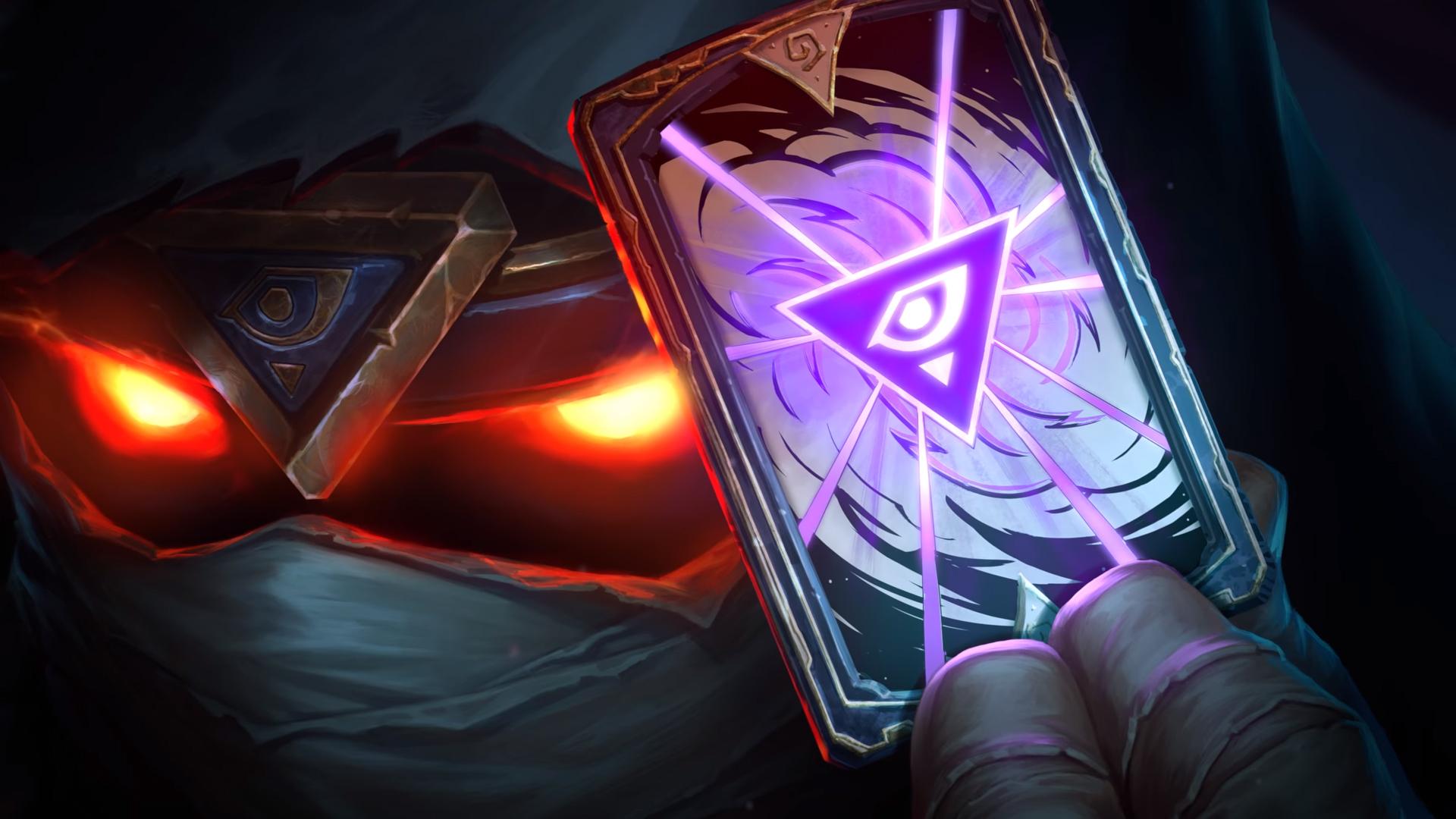 Le symbole est porté par Rafaam et sa carte du teaser