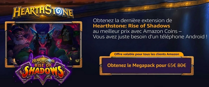La prochaine extension Hearthstone se nomme Rise of Shadows