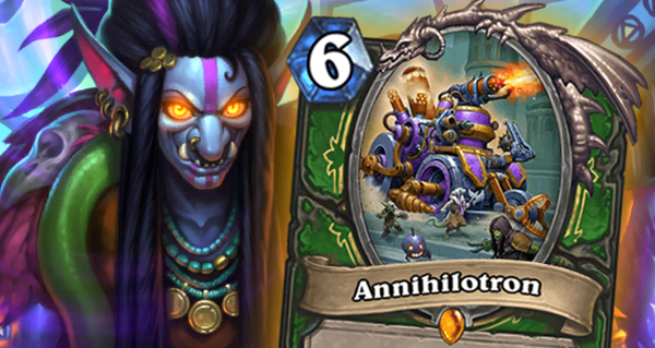 eveil des ombres : annihilotron, legendaire chasseur, manoeuvre de lazul
