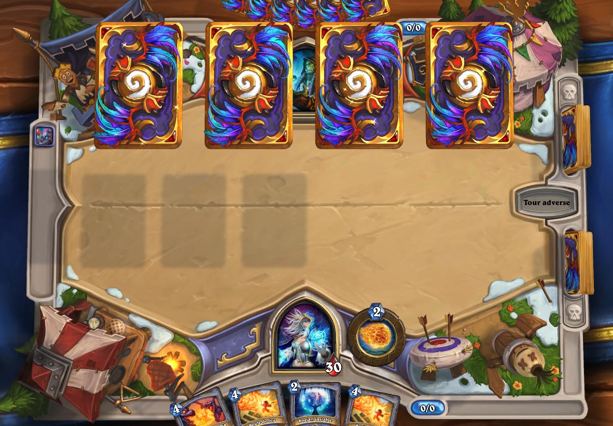C'est au tour de votre adversaire de bannir l'une de vos cartes