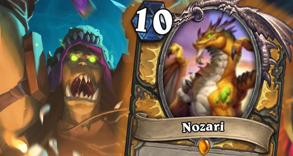 nozari : nouvelle carte legendaire paladin de l'eveil des ombres :