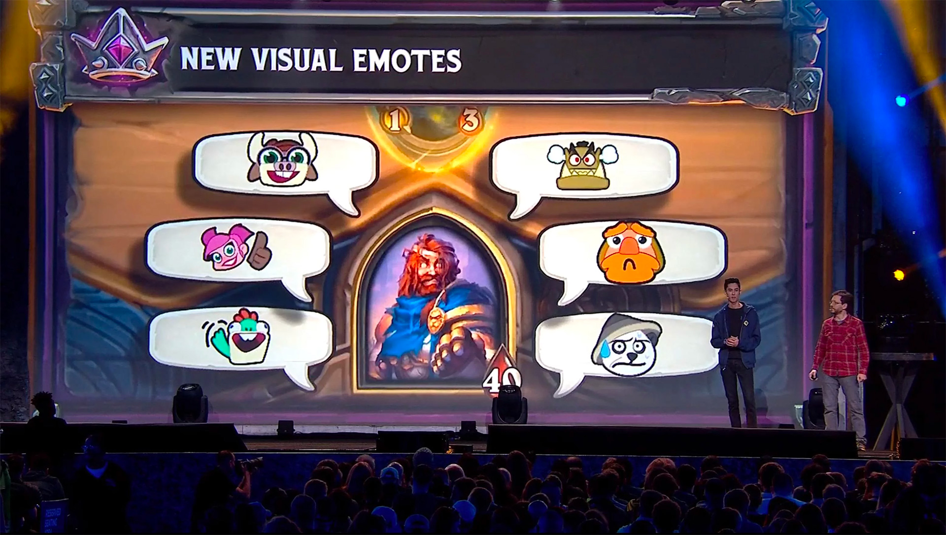 Le mode champ de bataille propose des emotes visuelles