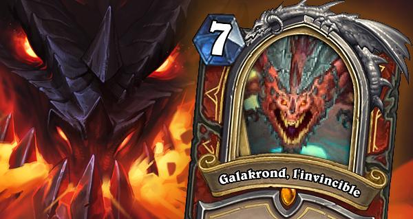 envol des dragons : nouvelle carte heros pour guerrier galakrond