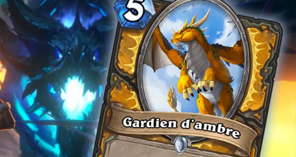 gardien d'ambre : nouveau dragon pour paladin