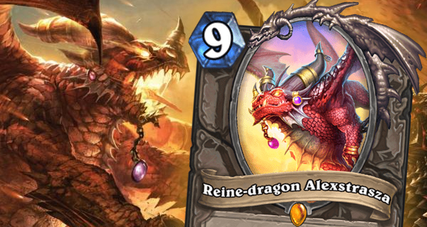 envol des dragons : carte legendaire neutre alexstrasza