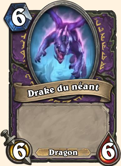 Drake du néant - Carte Hearthstone