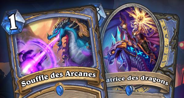 envol des dragons : 1 sort et 1 serviteur rares pour le mage