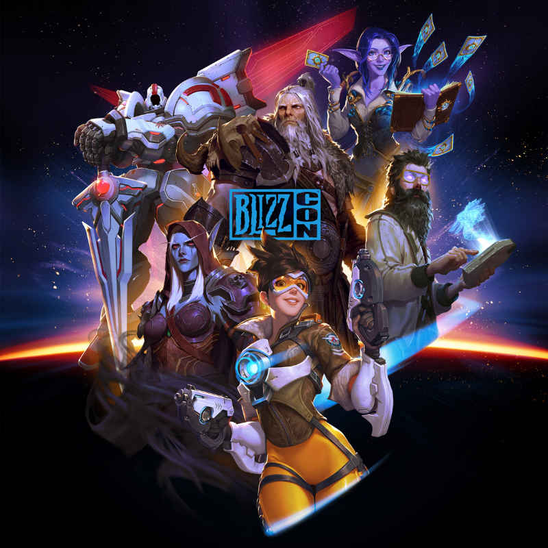 L'affiche officielle de la Blizzcon 2019