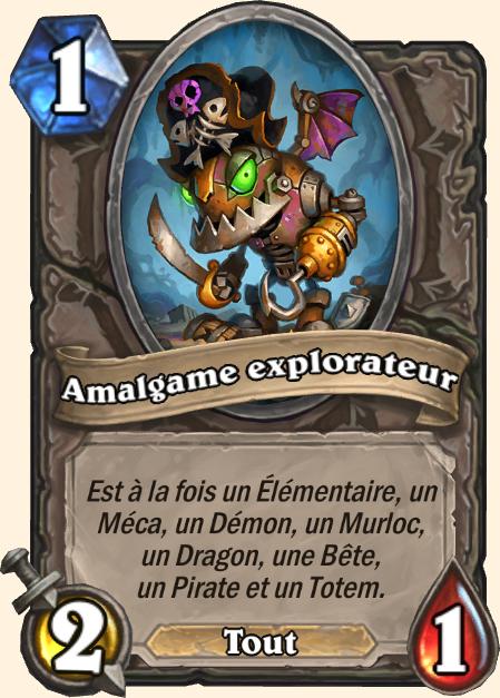 Carte Nouvelles recrues - Hearthstone