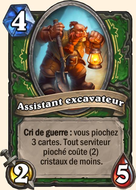Assistant excavateur - Hearthstone Tombes de la Terreur