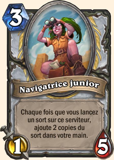 Navigatrice junior - Hearthstone Tombes de la Terreur