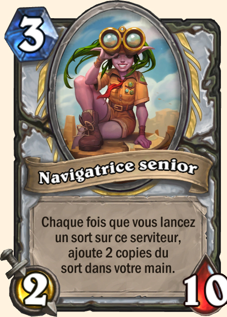 Navigatrice senior - Hearthstone Tombes de la Terreur