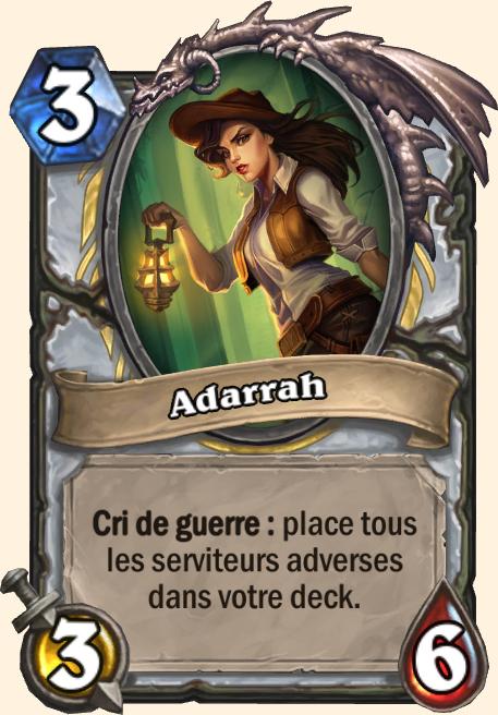 Adarrah - Hearthstone Tombes de la Terreur