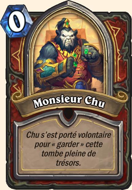 Boss Monsieur Chu - Hearthstone Tombes de la Terreur