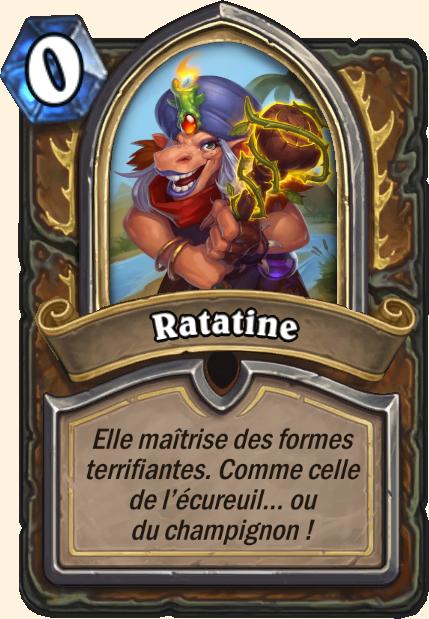 Boss Ratatine - Hearthstone Tombes de la Terreur