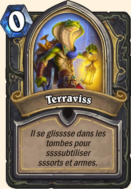 Boss Terraviss - Hearthstone Tombes de la Terreur