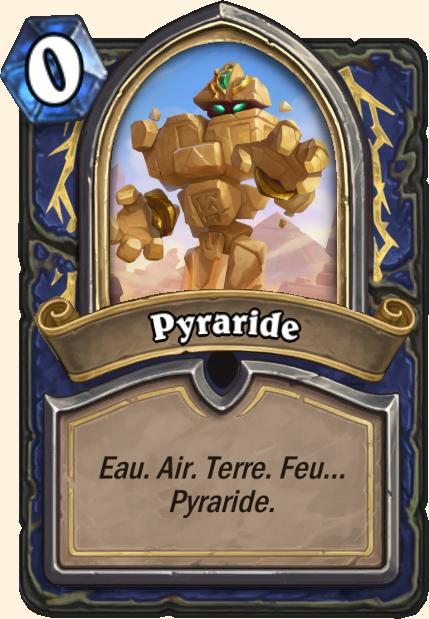 Boss Pyraride - Hearthstone Tombes de la Terreur
