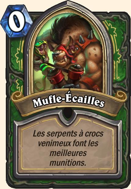 Boss Mufle-Ecailles - Hearthstone Tombes de la Terreur
