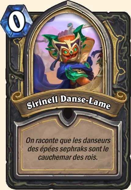 Boss Sirinell Danse-Lame - Hearthstone Tombes de la Terreur