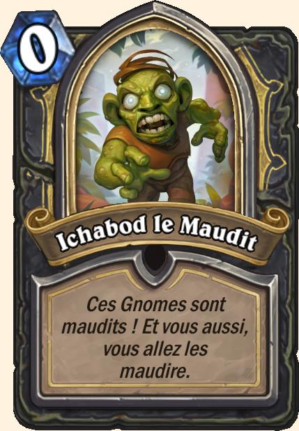 Boss Ichabod le Maudit - Hearthstone Tombes de la Terreur
