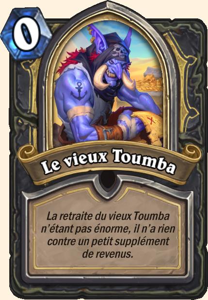 Boss Le vieux Toumba - Hearthstone Tombes de la Terreur