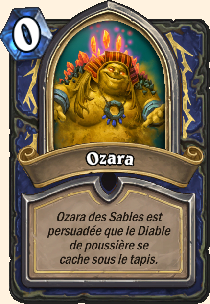 Boss Ozara - Hearthstone Tombes de la Terreur