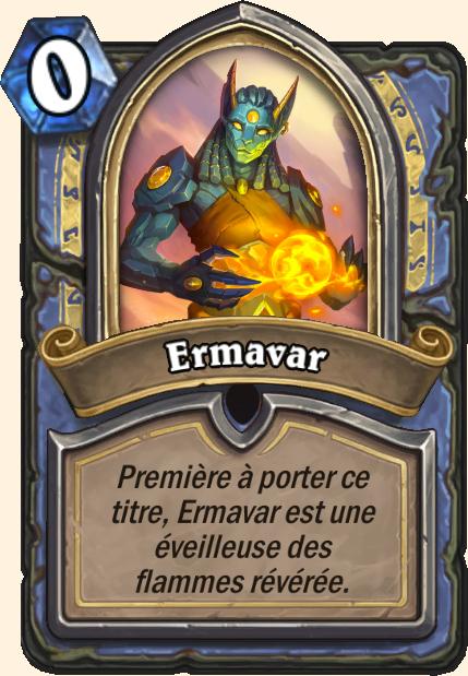 Boss Ermavar- Hearthstone Tombes de la Terreur