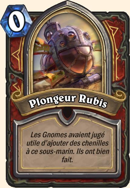 Boss Plongeur Rubis - Hearthstone Tombes de la Terreur