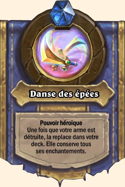 Pouvoir héroïque Danse des épées