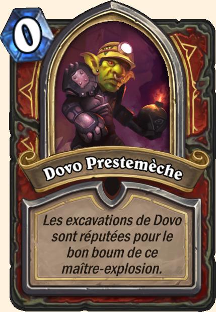 Boss Dovo Prestemèche - Hearthstone Tombes de la Terreur