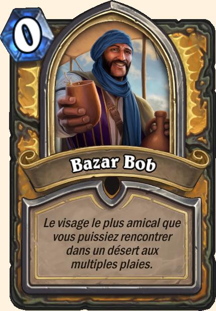 Bob le barman - Hearthstone Tombes de la Terreur