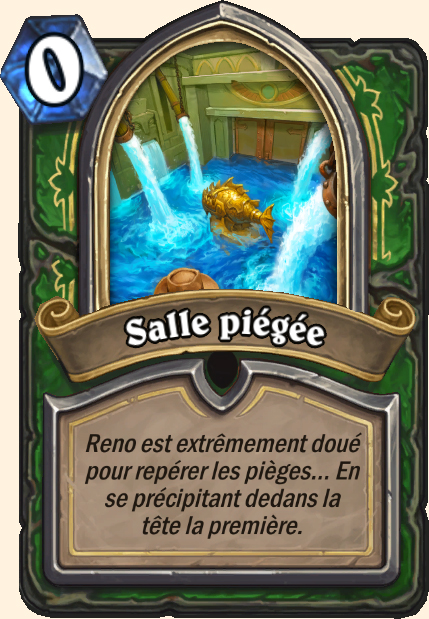 Boss Salle piégée - Hearthstone Tombes de la Terreur